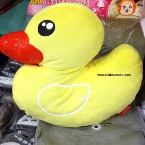 ตุ๊กตา เป็ดฮ่องกง B duck ไซส์ใหญ่ ด้านในซ่อนผ้าห่มขนาด3ฟุต