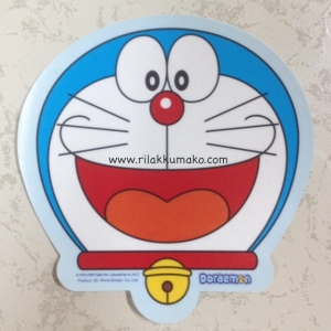ป้าย สูญญากาศ สำหรับติด พรบ. ลาย Doraemon โดเรมอน #1