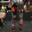 กางเกงลายคาบูกิ leggings สำหรับออกกำลังกาย โยคะ พิลาทิส ฯลฯ สำเนา thumbnail 4