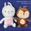 ตุ๊กตากระรอกและกระต่าย จากซีรี่ Descendant of the Sun thumbnail 1