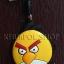 ที่ห้อยโทรศัพท์มือถือพร้อมจุกเสียบป้องกันฝุ่นไอโฟน Yellow Bird (Angry Birds) thumbnail 1