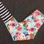 กางเกงลายดอกไม้ leggings สำหรับออกกำลังกาย โยคะ พิลาทิส ฯลฯ thumbnail 8