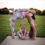 กางเกงลายแตงโม leggings สำหรับออกกำลังกาย โยคะ พิลาทิส ฯลฯ thumbnail 2