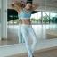 กางเกงลายไข่ดาว leggings สำหรับออกกำลังกาย โยคะ พิลาทิส ฯลฯ thumbnail 8