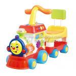 รถผลักเดินขาไถ 2 in 1 มีกระโถนในตัว หน้ารถไฟ พร้อมกิจกรรมเสริมทักษะ