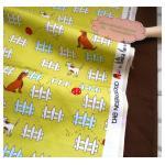 ผ้าcotton สั่งจาก USA 27x45 cm +ผ้าพื้น cotton สีน้ำตาลหาในพื้นที่ขนาด 50x50cm สั่งหลายจำนวนผ้าต่อกันค่ะไม่ตัดแยกค่ะ
