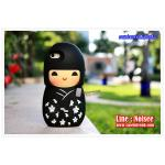 เคส iPhone5/5s - Japan doll สีดำ