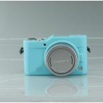 เคสซิลิโคน Panasonic GF9 สีฟ้า