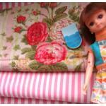 💨 เหลือ 1 แพคได้ ผ้าจัดเซตผ้า cotton หาในไทยขนาด 1/8 หลา 1ชิ้น + ผ้าลายทางหาในไทย 1 ชิ้น ขนาด1/8 m