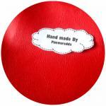 LH16 : ผ้าหนังสีแดงสด แบ่งขาย 1 หน่วย = ขนาด1/4 หลา : 45X 65 cm