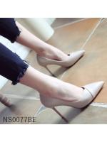 (พร้อมส่ง)รองเท้าคัทชู ส้นสูง แฟชั่น ราคาถูก มีไซด์ 36