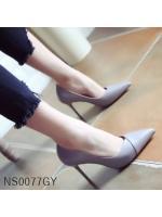 (พร้อมส่ง)รองเท้าคัทชู ส้นสูง แฟชั่น ราคาถูก มีไซด์ 38