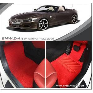 พรมดักฝุ่นไวนิล BMW Z4 รุ่น VINYL MAT สีแดง เต็มคัน สวยงาม หนานุ่ม สบายเท้าที่สุด เข้ารูป 100%