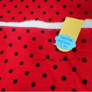 ผ้าcotton ซื้อในตลาดไทยค่ะ1จำนวน= 1/4เมตร (50x55) จุด 1/2cm