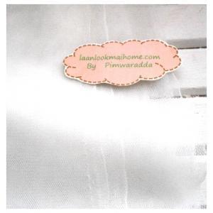 ผ้าตาข่ายสีขาวแบ่งขายขั้นต่ำ ขนาด1/4 m : 50 X 65 cm =1 ชิ้น