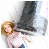 ยางยืดแบบกลมขนาด 3 มิลลิเมตร ม้วนใหญ่ ขนาด 144 หลามีสีขาว/ดำ