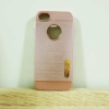 case iphone 5/5s/SE เคสยาง สีพิ้งโก