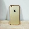 เคสไอโฟน 6พลัส /6s พลัส ยางขอบพริ้งโกล์ด