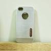 case iphone 5/5s/SE เคสยาง สีเงิน