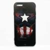 เคสไอโฟน 5/5s/SE กัปตันอเมริกา ลายพิมพ์นูน