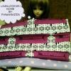 OCT58.Pack3 : เซตผ้าคอตตอนอเมริกา+ผ้าคอตตอนลายจุดในไทย ขนาดผ้าแต่ละชิ้น25-27x45c50cm