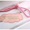ยางยืดแบบกลมสีชมพู ขนาด 0.3 cm ราคาขายต่อ 1 หลา
