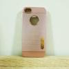 case iphone 5/5s/SE เคสยางMotomo สีพิ้งโกล