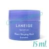 Laneige Special Care Water Sleeping Mask Lavender (Limited Edition) 15ml. เจลใสมาส์กหน้ากลิ่นลาเวนเดอร์ แบบไม่ต้องล้างออก เนื้อเจล บางเบาซึมซาบเร็ว มอบความรู้สึกผ่อนคลายสบายผิว ปรับผิวให้เปล่งปลั่ง กระจ่างใส ดูเนียนนุ่ม เป็นธรรมชาติ