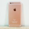 เคสไอโฟน 6Plus ลายไอโฟน 6s สีพิ้งโกล