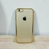 เคสไอโฟน 6/6s ยางขอบทอง