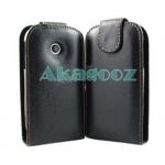 เคสหนังผิวด้าน LG Optimus Net / Net Dual [P690] รุ่น Flip Leather Case