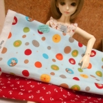 May59.Pack11: ผ้าจัดเซตผ้าคอตตอนอเมริกา 1ชิ้น +คอตตอนซื้อในไทย 1ชิ้น (ขนาดผ้าแต่ละชิ้น27x 45-50 cm) รวมเป็น 2ชิ้น