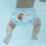 ลาย I'm scary 2 เดือน - 2 ขวบ #กางเกงผ้าอ้อมว่ายน้ำ # แพมเพริสว่ายน้ำ # กันอึน้องได้ คุณภาพดี ขอบเอว ขอบขาเป็นยางยืด เนื้อผ้านิ่ม
