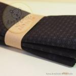 เซตผ้าฝ้ายโทนสีดำ (1/8 หลา ) 3 ชิ้น
