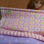 May59.Pack13 : ผ้าจัดเซตผ้าคอตตอนอเมริกา 1ชิ้น +คอตตอนซื้อในไทย 2 ชิ้น (ขนาดผ้าแต่ละชิ้น27x 45-50 cm) รวมเป็น3 ชิ้น