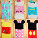 (Pre-order) ผ้าขนหนูแฟนซี Disney 60x30 CM