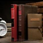 Book Book Leather case เคสหนังลายหนังสือ for iPad2,3