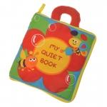 หนังสือผ้า Quiet Book ฝึกชีวิตประจำวัน