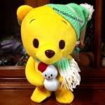 ตุ๊กตา หมีพูร์ POOH มีเสียงเพลง+เดินได้ สูง12นิ้ว