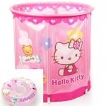สระน้ำทรงสูง คิตตี้ สำหรับเด็กเล็ก Hello Kitty Swimming Pool (Pink) ขนาด : 70 x 70 cm.