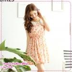 [Preorder] เดรสแฟชั่นแขนกุดลายดอกไม้สีชมพู Summer to promote 50% off the original * pastoral wind *