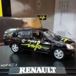 โมเดลรถยนต์ 1/43 RENAULT CLIO [NOREV] FRANCE INFO