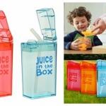 Juice in the Box กระบอกน้ำหัดดื่มสูญญากาศ พร้อมส่งสีฟ้า สีแดง และ สีชมพู (ราคานี้เป็นราคา 1 ชิ้น) ไม่ควรใส่น้ำร้อน นำไปนึ่ง หรือ เข้าไมโครเวฟ