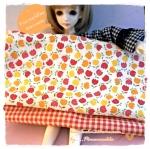 August57Pack3 : ผ้าจัดเซต ผ้าญี่ปุ่นนำเข้า + ผ้าในตลาดไทย ขนาดผ้าแต่ละชิ้น 25-27 X 45-50 cm