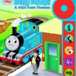 Play-a-Sound Doorbell Book, A Visit from Thomas & Friends [Board Book]