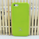 Mercury เจลลี่เคส สีมะนาว for iPhone5