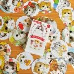 ชุดสติ๊กเกอร์ : แมว [Cute Pet]