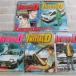 INITIAL D ( ใส่ชีวิตให้ซาบซ่า ) ชุด เล่ม 3,4,6,7,9 Shigeno Shuichi เขียน