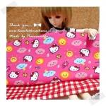 (จองหมดแล้วค่ะ) JULY58.Pack5 : ผ้าจัดเซต 2 ชิ้น ผ้า Kitty USA +ผ้าเนื้อดีในไทย ขนาด แต่ละชิ้น25- 27 X 45-50 cm