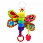 Lamaze Play & Grow Freddie the Firefly Take Along Toy ตุ๊กตาผิวสัมผัสแตกต่าง (ด้านการสัมผัส) มีเสียงก็อปแก๊ปและเสียงปิ๊ปๆ (การฟัง) มีกระจก (การมอง) มียางกัด เด็ก ๆ ชอบมาก ๆ ค่ะ รับรองได้เลย